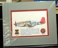 Tuskegee Airmen Giclee & Iris Matted 8X10 Art Print by artist Willie Jones Jr.