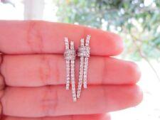 .99 Carat Diamond White Gold Earrings 14k codeEx33 sep