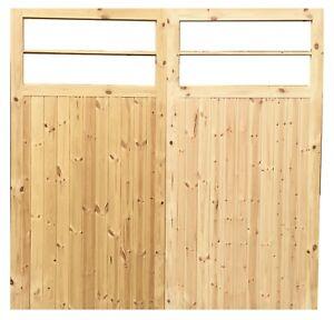 WOODEN GARAGE DOORS (TIMBER) 'KINGSTON'