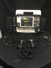 LifePak 12 Biphasic ECG w/ Paddles, Power Source, Battery, And Case