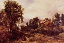 502076 Glebe Farm John Constable A4 Photo Print