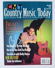 "BRAD PAISLEY Signed Autograph ""Country Music Today"" Magazine"