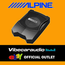 "Alpine PWE-V80 - 8"" 160W Compact Powered Subwoofer Box Underseat Bass Box"
