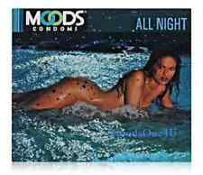 20 Pcs Company Product Concealed Shipping MOODS ALL NIGHT Condoms  100% Privacy