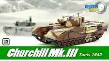 Modello finito Dragon 1:72 60569: carri armati Churchill Mk III, Tunisia 1943