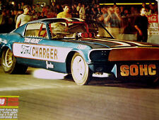 1965-1966 FORD MUSTANG FUNNY CAR/Tommy Grove/DRAG RACING-VTG HOT ROD GALLERY/GT