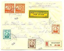 NEDERLAND 1928-10-9  REG  CV  NAAR TJIMAHI  NED INDIE  FRAAI  FINE