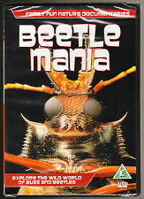 BEETLE MANIA - NATURE DOCUMENTARY ON BUGS AND BEETLES - NEW & SEALED R2 DVD