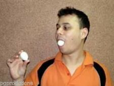 EGGS FROM MOUTH PRODUCTION Out of Magic Trick Appearing Solid Comedy Set Plastic
