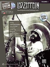 LED ZEPPELIN DRUM PLAY ALONG BOOK + CD JOHN BONHAM NEW