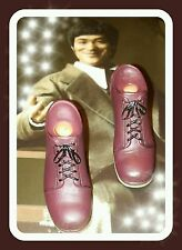 1/6 Hot Toys Bruce Lee MIS11 Pair of Brown Shoes  US Seller