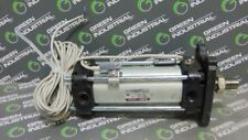 USED SMC CDBA1FN50-100-HN-A54L Cylinder 1.0MPa with 2 D-A54 Magnetic Reed Switch