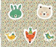 """Animals & Insects Less than 45"""" Floral Craft Fabrics"""