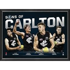 Carlton Blues 2018 Sons of the AFL Official License Limited Edition Print Framed