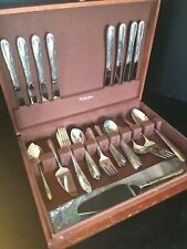 Madeira by Towle Sterling Silver Flatware 8-4pc Place settings + Serving Pieces