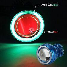 Halo Angel Red Demon Eye Headlight For Kawasaki Ninja ZX 6R 7R 9R 10R 12R 14R