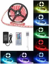 10M RGB 5050 LED Strip Lights With IR Remote Back Light 12V Colour Changing Xmas