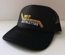 MFP Interceptor Trucker Hat - Mad Max Snapback Cap Retro Film V8 Car Black