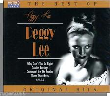 Peggy Lee - The Best of:  Original Capitol Hits (2003) - New 17 Song European CD
