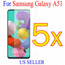 5x Clear Screen Protector Guard Cover Film For Samsung Galaxy A51 (2019)