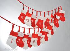 Bänder Anhänger Weihnachten Advent Sonderposten Div.Advendskalender Clips