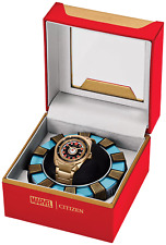 Citizen Marvel Tony Stark Iron Man I Love You 3000 Le 1500 Watch Aw1013-59w
