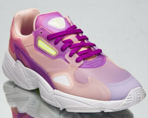 adidas Originals Falcon Women's Bliss Purple Athletic Casual Lifestyle Sneakers