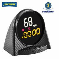 GPS HUD Speedometer Overspeed Alarm MPH/KMH Compass Altitude Digital Meter Gauge