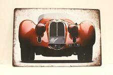 New Alfa Romeo Tin Metal Poster Sign Vintage Classic Car Show Man Cave Garage