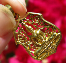 Gold Shiva Hindu Goddess Pendant Yoga Shiva Buddhism Buddha Meditation Charm