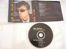 GLEN MATLOCK/SEX PISTOLS - MY LITTLE PHILISTINE UK PROMO 3 TRK CD SINGLE