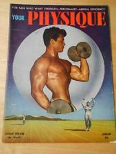 YOUR PHYSIQUE bodybuilding muscle magazine/STEVE REEVES 1-49