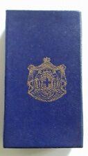 1950 ROYAL KINGDOM OF GREECE EMPTY MEDAL BOX