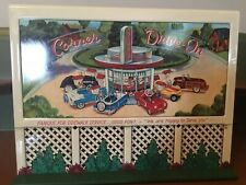 1998 Hallmark Bills Boards Famous Food Sign Kiddie Car Corner Collection Qhg3614