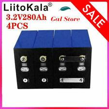 4pcs3.2v280ah Lifepo4 Li-iron Phosphate Electric Scooter Rv Solar Storage System