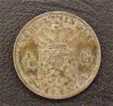 INDONESIE (PAYS BAS) 1/10 GULDEN 1882