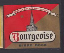 A348  Ancienne étiquette Bière France  Rogez  Agnez lez Duisans