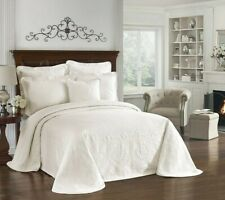 Bedspread King Charles Ivory Queen Bedding NEW