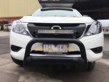 Mazda BT-50 BT50  Low Loop Nudge Bar 2012- 2017 3'' Black Powder Coated Steel