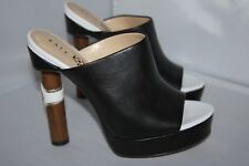 Katy Perry The Cleo Black Nappa Mules  Women's size 5 m
