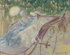 Icart Louis Elegant Ride Canvas 16 x 20  #3030