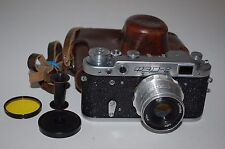 FED 2 (type C2) Vintage Soviet Rangefinder Camera. With Case. 1959. (713907)