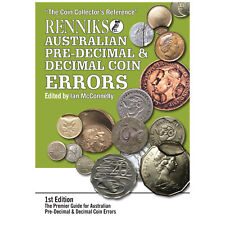 Renniks Australian Pre-Decimal & Decimal Coin Errors 1st Ed Soft Cover Book