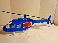 "Vintage Gay Toys Item # 870 - 11"" Emergency Helicopter  made in USA"