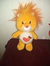 """Care Bear Cousins 9"""" Plush, Brave Heart Lion, 2003"""