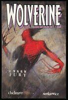 Wolverine Inner Fury Trade Paperback TPB Marvel Comics 1992 Bill Sienkiewicz art