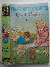 ENID BLYTON.TALES AFTER SUPPER.H/B D/J 1966,B/W ILLS