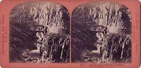 Pont Del Diable Sant' San Gottardo Suisse Foto Demay - Vintage Albumina Ca 1870