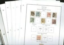 MAURITIUS, MEMEL,  Excellent Stamp Collection hinged on pages