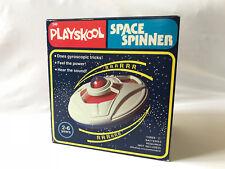 1979 Vintage Playskool #240 SPACE SPINNER Gyroscope Toy UFO Flying Saucer ship
